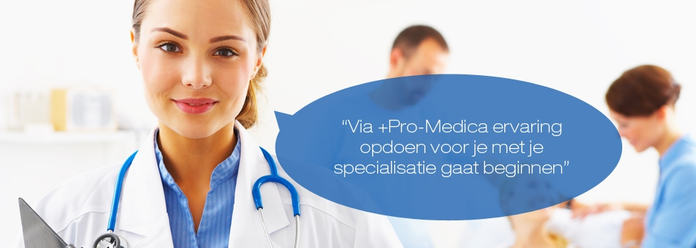 Pro Medica uitzendbureau artsen zorg